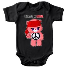 Body bébé  parodique Bisounours : Peace And Love ! (Chibi Version) (Parodie )