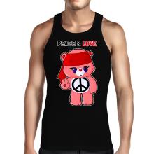 Débardeurs  parodique Bisounours : Peace And Love ! (Chibi Version) (Parodie )