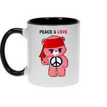 Mugs  parodique Bisounours : Peace And Love ! (Chibi Version) (Parodie )