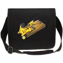 Sac bandoulière Canvas  parodique Pikachu : Piège à souris ! (Parodie )