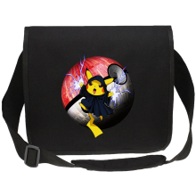 Funny Canvas Messenger Bags - The Emperor Palpatine and Pikachu ( Parody)