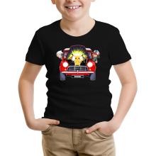 T-shirt Enfant  parodique Pikachu, Sasha et Aurore : Pika dépannage (Parodie )
