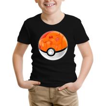 T-shirt Enfant  parodique La Poké Ball de Pikachu : Pika Pas Cool ! (Parodie )