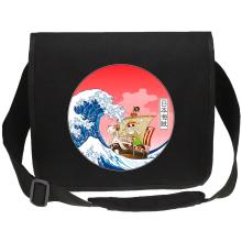 Sacs bandoulière Canvas  parodique La Grande Vague de Kanagawa et le Vogue Merry : Pirates en mer du Japon... :) (Parodie )
