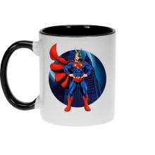 Mugs  parodique All Might X Superman : Super AllMight man :) (Parodie )