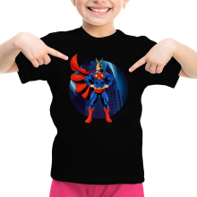 T-shirts  parodique All Might X Superman : Super AllMight man :) (Parodie )