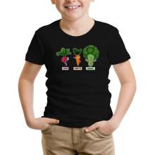 T-shirts  parodique Sangoku, Broly et Raditz : Super Héros de la Planète Végétale (Parodie )