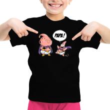 T-shirt Enfant Fille  parodique Boubou et Patrick  l