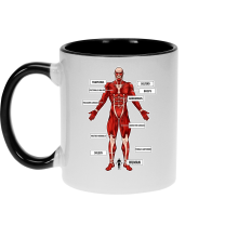 Funny  Mug - The colossal Titan ( Parody) (Ref:767)