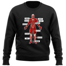 Funny  Sweater - The colossal Titan ( Parody) (Ref:767)