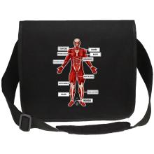 Funny  Canvas Messenger Bag - The colossal Titan ( Parody) (Ref:767)