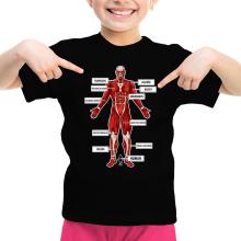Funny  Girls Kids T-shirt - The colossal Titan ( Parody) (Ref:767)