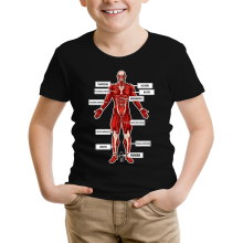 Funny  Kids T-Shirt - The colossal Titan ( Parody) (Ref:767)