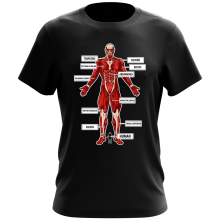 Funny  T-Shirt - The colossal Titan ( Parody) (Ref:767)
