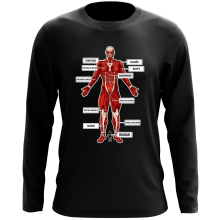 Funny  Long Sleeve Top - The colossal Titan ( Parody) (Ref:767)