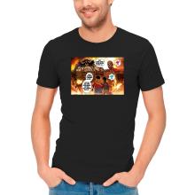 T-shirts  parodique Luffy Vs Kaido aka Eren et le Titan Colossal : Un Combat titanesque... (Parodie )