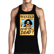 Débardeurs  parodique Brook Wanted : Un Wanted qui tue !! YOHOHOHO !!! (Parodie )