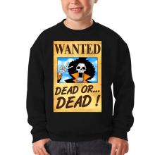 Sweat-shirts  parodique Brook Wanted : Un Wanted qui tue !! YOHOHOHO !!! (Parodie )