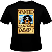 T-shirts  parodique Brook Wanted : Un Wanted qui tue !! YOHOHOHO !!! (Parodie )