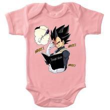 Body bébé (Filles)  parodique Végéta de Dragon Ball Super et le Death Note : Une idée fixe... (Parodie )
