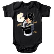 Body bébé  parodique Végéta de Dragon Ball Super et le Death Note : Une idée fixe... (Parodie )