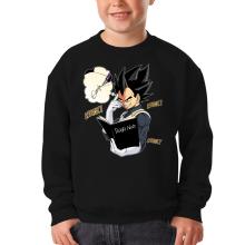 Pull Enfant  parodique Végéta de Dragon Ball Super et le Death Note : Une idée fixe... (Parodie )