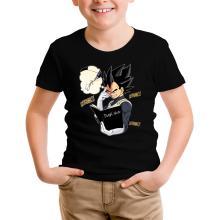 T-shirt Enfant  parodique Végéta de Dragon Ball Super et le Death Note : Une idée fixe... (Parodie )
