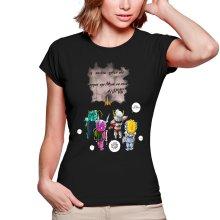 T-shirts Femmes  parodique Seiya, Shiryu, Hyoga et Shun dans la maison d