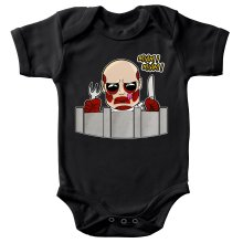 Funny Baby Bodysuit - The colossal Titan ( Parody)