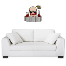 Funny Wall Sticker - The colossal Titan ( Parody)