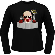 T-Shirts à manches longues  parodique le titan colossal : A Table !! (Parodie )