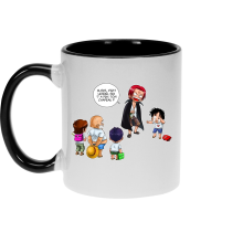 Mugs  parodique Luffy et Shanks : C