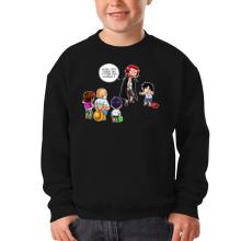Sweat-shirts  parodique Luffy et Shanks : C