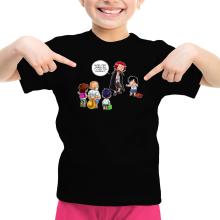 T-shirts  parodique Luffy et Shanks : C