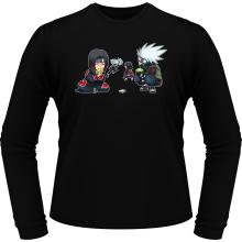 T-Shirts à manches longues  parodique Kakashi et Itachi : Clones no Jutsu :) (Parodie )