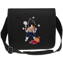 Funny Canvas Messenger Bags - Vegeta ( Parody)