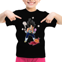 T-shirts  parodique Végéta : Coiffure explosive :) (Parodie )