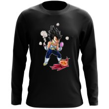 Funny Long Sleeve Tops - Vegeta ( Parody)