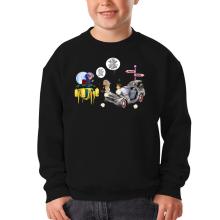 Sweat-shirts  parodique Trunks Vs Doc et Marty Macfly : Collision dans les Couloirs du Temps ! (Parodie )