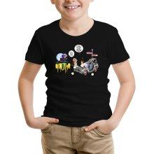 T-shirts  parodique Trunks Vs Doc et Marty Macfly : Collision dans les Couloirs du Temps ! (Parodie )