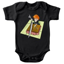 Funny  Baby Bodysuit - Ichigo with his Zanpakuto ( Parody) (Ref:131)