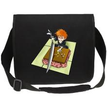 Funny  Canvas Messenger Bag - Ichigo with his Zanpakuto ( Parody) (Ref:131)