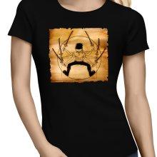 T-shirts Femmes  parodique Zoro Roronoa : Da Vinci Samurai ! (Parodie )