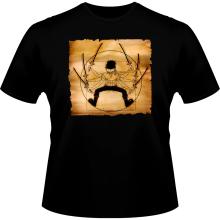 T-shirts  parodique Zoro Roronoa : Da Vinci Samurai ! (Parodie )