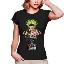 T-shirts Femmes  parodique Broly, Cell, Freezer et Super Bou : DB INjustice League ! (Parodie )