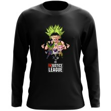T-Shirt à manches longues  parodique Broly, Cell, Freezer et Super Bou : DB INjustice League ! (Parodie )
