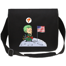 Funny  Canvas Messenger Bag - Zoro ( Parody) (Ref:922)