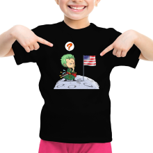 Funny  Girls Kids T-shirt - Zoro ( Parody) (Ref:922)