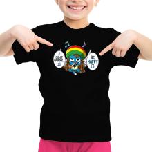 T-shirt Enfant Fille  parodique Happy : Happy Bobby (Parodie )