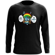 T-Shirt à manches longues  parodique Happy : Happy Bobby (Parodie )